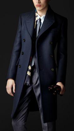 Wool Felt Tailored Coat