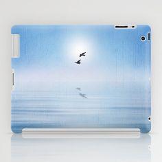 minimalism in the sea iPad Case by Viviana González - $60.00
