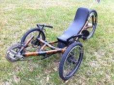 Recumbent Bamboo Trike
