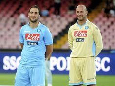 ~ Gonzalo Higuain and Pepe Reina on Napoli ~