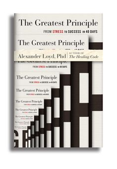 """The Greatest Principle"" Book Cover Designs by Patrick King, via Behance"