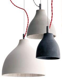 Concrete pendants, Industrial pendants, Industrial lighting, Classic and period lighting, Holloways of Ludlow Diy Pendant Light, Small Pendant Lights, Kitchen Pendant Lighting, Kitchen Pendants, Pendant Light Fixtures, Industrial Lighting, Interior Lighting, Home Lighting, Modern Lighting