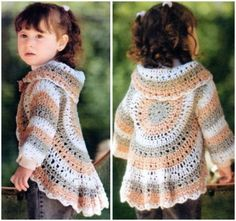Crochet Pretty Circle Jacket with Pattern