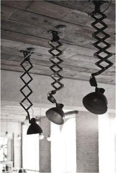 Geef je interieur een stoere look met industrieel licht - Atelier09