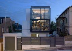 Casa en calle Olimpo. allende arquitectos. Madrid 2009