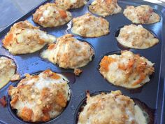 Ground Turkey Sweet Potato Meatloaf Muffins inspired by Jamie Eason Jamie Eason has some amazing lean eating recipes that I make all the time. One of her recipes I especially love are her meatloaf muffins. I have made her perfectly…