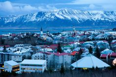 Rejkavik - So pretty! I get to see this city next summer!