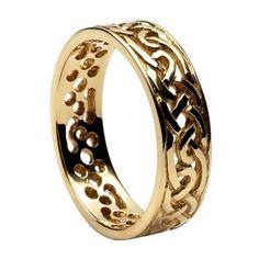 Filigree Celtic Knot Ring