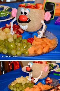 Toy Story Birthday Cake, Third Birthday, Birthday Ideas, Festa Toy Story, Toy Story Party, Mickey Mouse Parties, Mickey Mouse Birthday, Toy Story Potato, Toy Story Cakes
