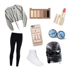 """""""Child"""" by aim-fire ❤ liked on Polyvore featuring NIKE, Vans, Casetify and Urban Decay"""