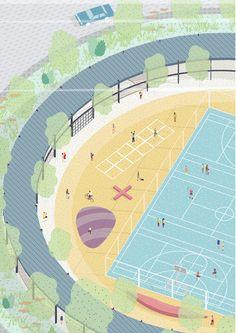 Sport Facilities - Paris - Jean-Baptiste de Boisséson