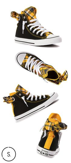 A little old-school and a little of the new, the Converse Chuck Taylor Bow-Back High Top sneaker will give your budding fashionista a crash-course in the foundations of classic styling while they branch out on their own.