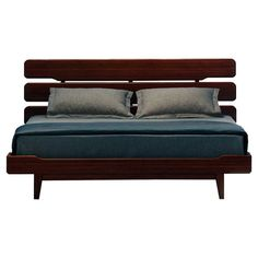 I want this bed. Found it at Wayfair - Currant Platform Bed in Dark Walnut