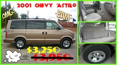 2001 CHEVROLET ASTRO LS $3,250 115K MILES, AUTO, 4.3L, V6, POWER EVERYTHING, KEYLESS ENTRY, CHROME RIMS, SUPER CLEAN, MUST SEE!! LOCATED AT 701 SW LEE BLVD. LAWTON, OK. PLEASE CALL EMMA FOR MORE INFO: 580-585-1662.
