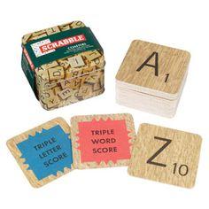 Dessous de verre en carton motif Scrabble par 54