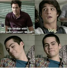 Stiles looks so happy with himself