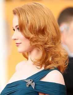 Dare to Go Red: Photos of Gorgeous Red Hair Color: Gorgeous Redheads: Actress Evan Rachel Wood