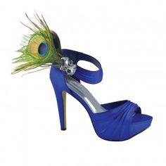 Peacock shoes!