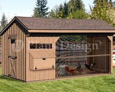 x Walk in Saltbox Chicken Coop Plans Design : Roof Style: Saltbox. Plans are for a classic combination style chicken coop comfortably house up to twelve chickens. There are six nesting boxes and three roost bars plenty of space for the chickens. Walk In Chicken Coop, Small Chicken Coops, Easy Chicken Coop, Diy Chicken Coop Plans, Clean Chicken, Chicken Pen, Chicken Coop Designs, Backyard Chicken Coops, Building A Chicken Coop