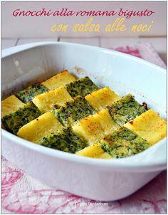 Raw Food Recipes, Veggie Recipes, Italian Recipes, Vegetarian Recipes, Cooking Recipes, Healthy Recipes, Polenta, Crepes, Pasta Alla Carbonara
