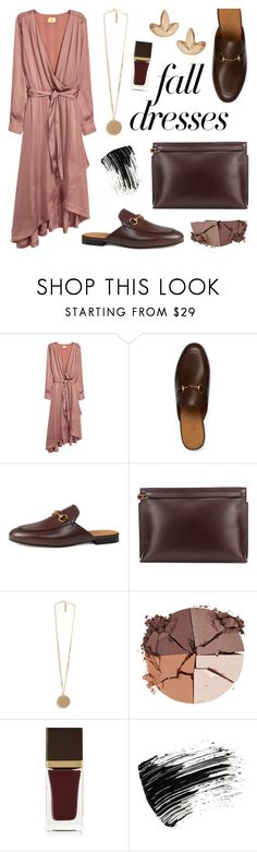 """Fall Dress: Copper & Wine"" by twenty-7 ❤ liked on Polyvore featuring Gucci, Loewe, Givenchy, lilah b., Tom Ford, Marc Jacobs, Humble Chic and falldresses"