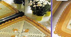 JOGO DE COZINHA AMARELO EM CROCHE Nara, Kitchen Playsets, Kitchen Yellow, Cooking