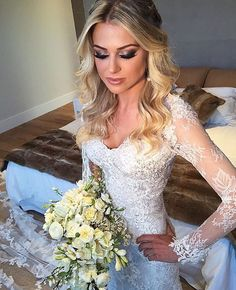 #trow🔙 na minha noiva D E U S A @danibittencourtbarbosa 🔥❤️🎉😍👏🏼👰🏼 #makeporjimmypaladino