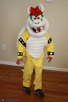 Super Mario World Bowser - Halloween Costume Contest via @costume_works