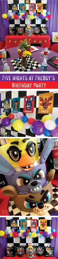 Five Nights At Freddy's Inspired Birthday Party by Hey Girl Events