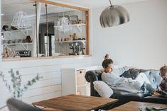 Modern Family Room Makeover - Bethany Menzel