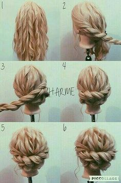 How to: wedding hair