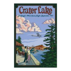 >>>Low Price Guarantee          Crater Lake - Charles Lindbergh Flight - Poster           Crater Lake - Charles Lindbergh Flight - Poster you will get best price offer lowest prices or diccount couponeShopping          Crater Lake - Charles Lindbergh Flight - Poster Online Secure Check out ...Cleck See More >>> http://www.zazzle.com/crater_lake_charles_lindbergh_flight_poster-228817437467559631?rf=238627982471231924&zbar=1&tc=terrest