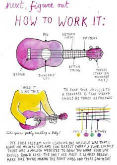Rookie Mag: Teach Yourself How to Play Ukelele