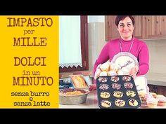 Impasto Base per Plumcake, Ciambellone, Muffins e Cupcakes senza burro ne latte, pronto in un minuto - YouTube