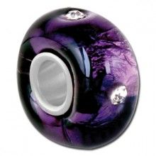 The perfect purple Bauble LuLu bead to add to any charm bracelet including Troll, Pandora, Chamilia. $6.99