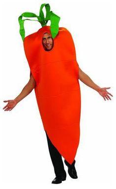 Carrot Costume Adult Standard.