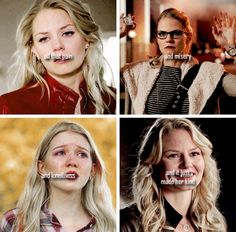 Mirror, Mirror on the wall, who's the strongest of them all? Well your Majesty, Emma Swan is the strongest of them all