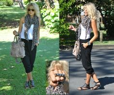 Scarf, H / Bag, Witchery / Top, Supre / Trousers, Supre / Ring, Lovisa / Shoes, I <3 Billy | lookbook.nu/mungolife