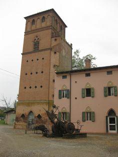 Villa Smeraldi, Museo della civiltà contadina - San Marino di Bentivoglio (BO)  La casa del fattore.