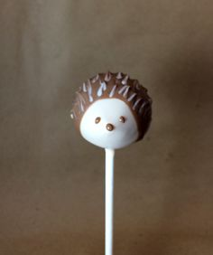 Make Adorable Tiny Hedgehogs in Our Woodland Cake Pop Series