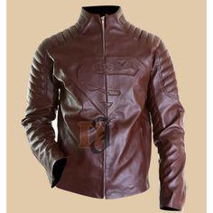 Smallville Superman Clark Kent brown Leather Jacket