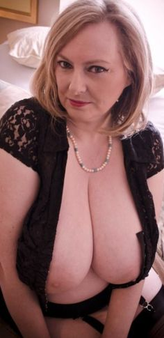 Lovely mature breasts