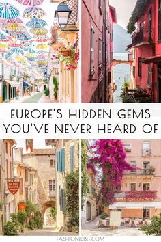 Hidden Gems of Europe and Why You Need to Visit Them – Best Europe Destinations Backpacking Europe, Europe Travel Guide, Europe Destinations, Travel Guides, Europe Europe, Europe Places, Europe Budget, Travel Hacks, Travel Packing