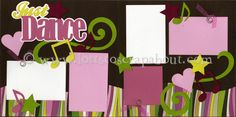 Just Dance Scrapbook Page Kit - Click Image to Close