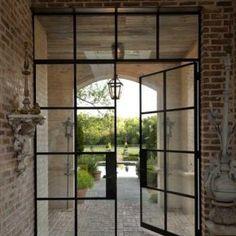 French Steel Doors