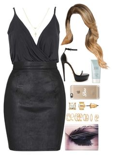 """""""21 February, 2015"""" by jamilah-rochon ❤ liked on Polyvore featuring Boohoo, Betsey Johnson, Topshop, Jimmy Choo, Forever 21, Casetify, Giorgio Armani, Mudd, women's clothing and women"""