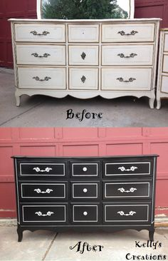 French Provincial Bedroom Furniture Redo $325. vintage french provincial lingeriecolorfulhomedesigns