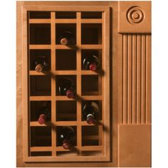 18 Bottle Capacity 17 Inch W X 29 Inch H Alder Unfinished Wood | Unfinished Wood…