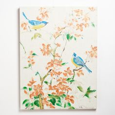 """""""Birds Greenery"""" by Fabrice De Villeneuve 
