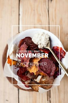 15 Recipes to Make this November #FallRecipes
